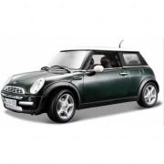 Schaalmodel Mini Cooper groen