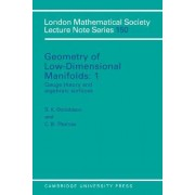 Geometry of Low-Dimensional Manifolds: Volume 1, Gauge Theory and Algebraic Surfaces by S. K. Donaldson