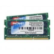 8 Kit de double mémoire de portable SO-DIMM de Go DDR2 PC2-6400 800 MHz CL6 (2x4GB)