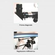 VB ITALIA Telescopio rifrattore 900/60