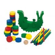 Goki Balancing & Stacking Game Crocodile Baby Toy