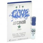 Roberto Cavalli I Love Him Vial (Sample) 0.05 oz / 1.5 mL Men's Fragrance 510565