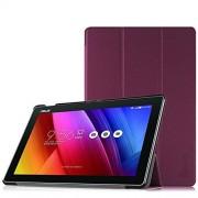 Fintie Etui Asus ZenPad 10 - Ultra Slim Coque étui Housse Case Cover avec la Sommeil / Réveil Automatique Fonction pour Tablette Asus ZenPad 10 Z300C / Z300CNL / Z300CG / Z300CL / Z300M (10,1 Pouces) , Pourpre