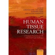 Human Tissue Research by Christian Lenk