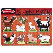 """Puzzle sonor """"Animale domestice"""""""