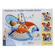 Planet of Toys New Born Toddler Protable Rocker