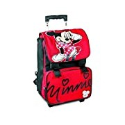 Simply Minnie - Backpack/Trolley Expandable, Red