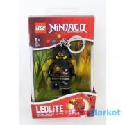 LEGO Ninjago világító kulcstartó - Cole