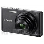 Sony Cyber-shot DSC-W830 (czarny) - Raty 30 x 17,30 zł - odbierz w sklepie!