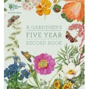 RHS a Gardener's Five Year Record Book by RHS
