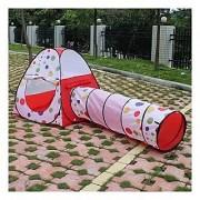 AGPtek Play Tent Dot Design Princess Castle Pop Up PlayHouse Gift Toy Indoor Outdoor for Girls Children Kids