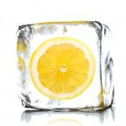 Afbeelding achter glas - Lemon Ice - print achter glas, Pro Art