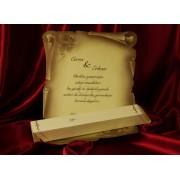 invitatii nunta cod 528