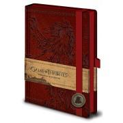 Game of Thrones Premium Notebook A5 Lannister Pyramid International
