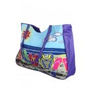 Plážová kabelka fialová