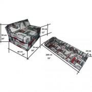 Natalia Sp. z o.o. Fotel materac składany 200x70x10 cm - LONDON2