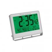 Orologio da parete digitale Alba - grigio - 22x0,3x20 cm - HORLCD - 049957 - Alba