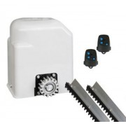 Conjunto Automatizador Motor Portão Eletrônico Peccinin Deslizante Light 1/3 110V