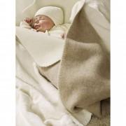 Hessnatur Kinder & Baby Natur-Wolldecke natur