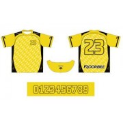 FLOORBEE Uniform RN XL žlutá / černá