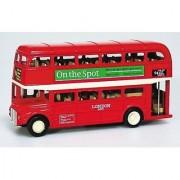 Goki Od Die-Cast London Bus 12cm