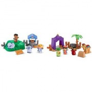 Little People Three Wise Men and Lil' Shepherds Gift Bundle