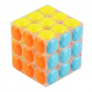 YJ8307 3x3x3 5.7cm Anti-POP Diamond-Section Magic IQ Cube (Skill Level 3)