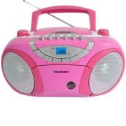 Boombox cu radio Blaupunkt BB15PK Pink