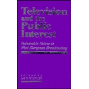 Television and the Public Interest by Jay G. Blumler