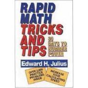 Rapid Math Tricks & Tips by Edward H. Julius