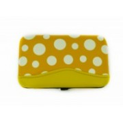Manikúra set 7 dílů puntík žlutý 9153-2 9153-2