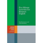 Five-Minute Activities for Business English by Paul Emmerson