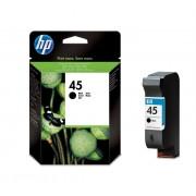 HP Cartus inkjet original, negru, capacitate mare hp 45 (51645ae)
