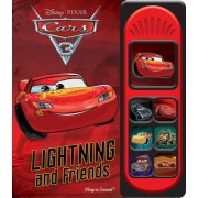 Cars 3 Little Sound Book by Pi Kids