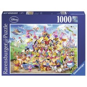 Ravensburger puzzle carnavalul disney multicolor, 1000 piese