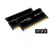 KINGSTON SO-DIMM DDR3L16GB 1600MHz (2x8) HyperX Impact HX316LS9IBK2