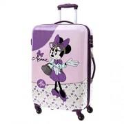 Disney Minnie Glam Equipaje Infantil, 64 Litros, Color Rosa