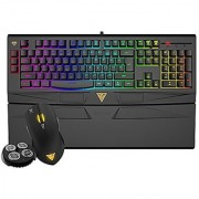 GAMDIAS ARES 7 Color Membrane Gaming Combo GKC6011