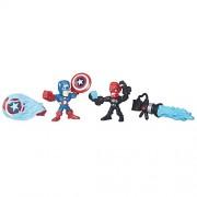 Marvel Super Hero Mashers Micro Captain America vs. Iron Skull 2-Pack