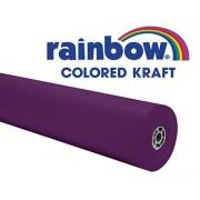 RAINBOW KRAFT ROLL 100FT PURPLE