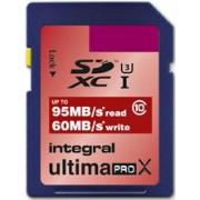 INTEGRAL Cartão SDXC Ultima ProX 256B (95/60MB/s) (Class 10)