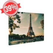 Eiffel torony - Vászonkép - 65x85 cm