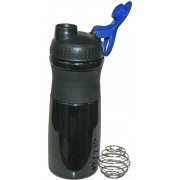 Adraxx Sports With Ergonomic Grip and Shaker 500 ml Shaker, Sipper(Black)