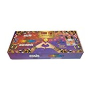 Loom Bands Glow in Dark and Glitter (Pack of 1200)