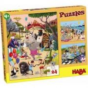 HABA Puzzle Zwariowane Zwierzątka