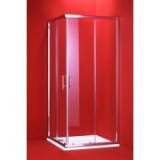 Sprchovací kút Motril 90 x 90 x 195 cm, bez vaničky, číre sklo