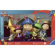 Ravensburger 06056 - Mike the Knight e i suoi amici, puzzle a incastro da 15 pezzi