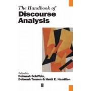 The Handbook of Discourse Analysis by Deborah Schiffrin