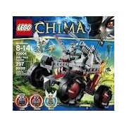 Game / Play Lego Chima Wakz Pack Tracker 70004, Includes 3 Minifigures: Wakz, Winzar And Equila. Toy / Child / Kid