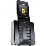 Telefon DECT PANASONIC Premium KX-PRS110FXW, negru, fara fir